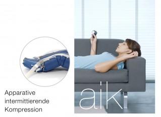 Apparative intermittierende Kompression